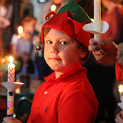 First Grade Candle Lighting